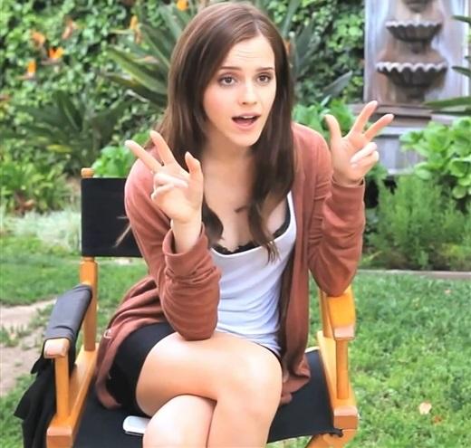 Emma Watson penis size
