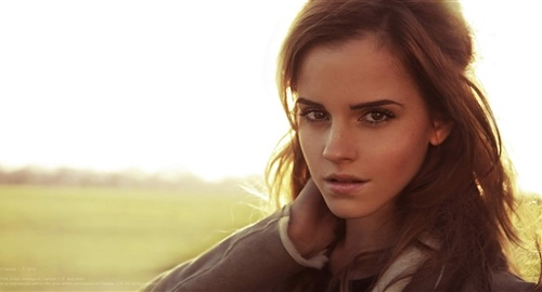 Emma Watson Conjures Up Sexiness